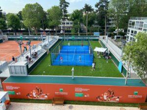 Roland Garros padel 2021 above