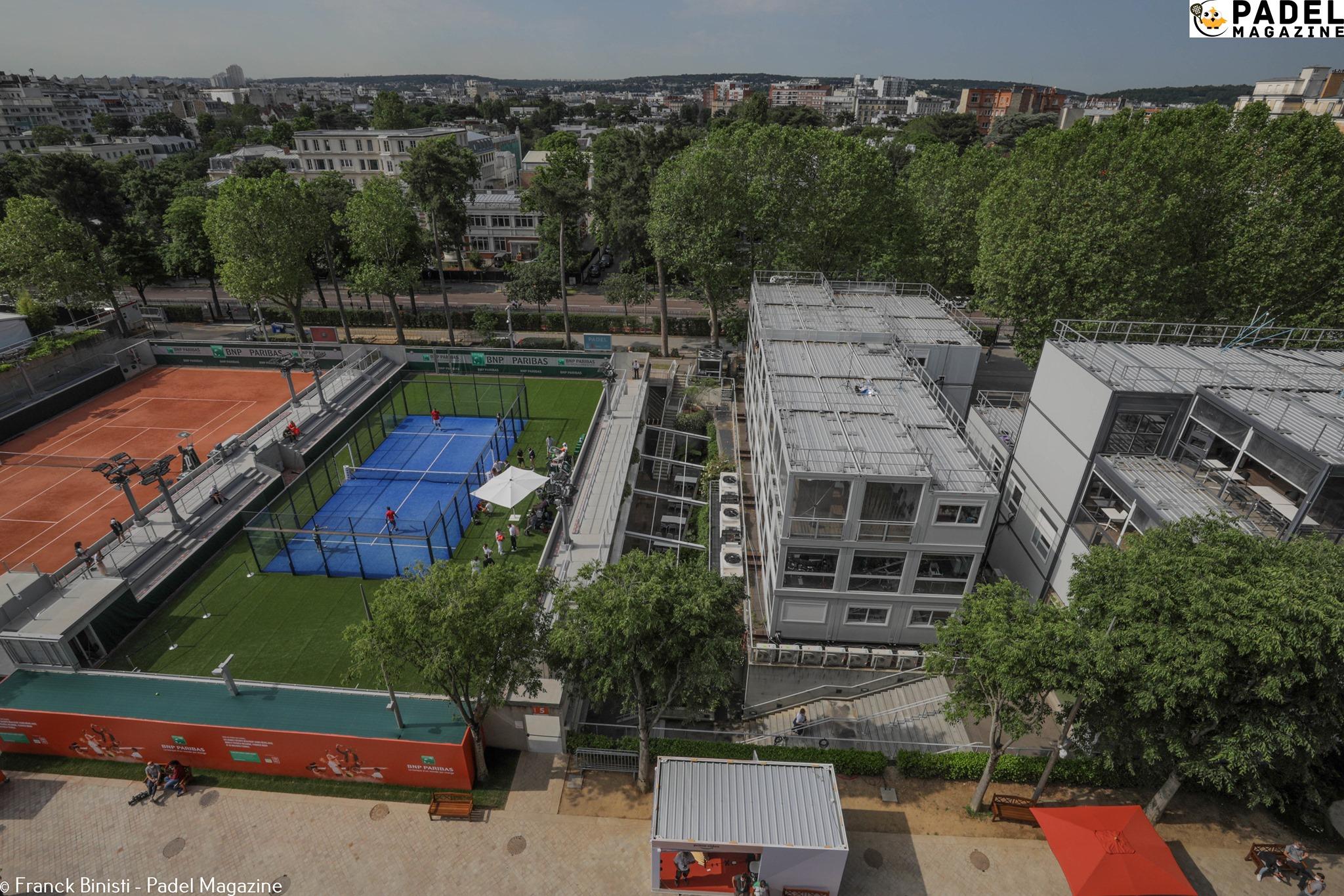 maasto padel Roland Garros