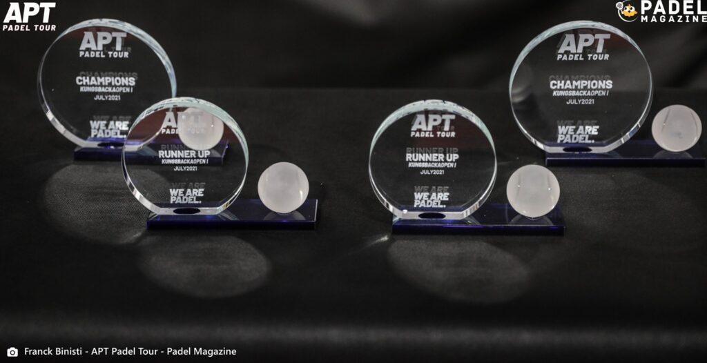 APT Padel round trofei montepremi Kungsbacka Open 2021