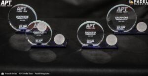 APT Padel tour trophées prize money Kungsbacka Open 2021