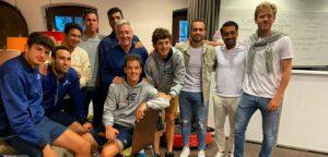 2021年美国VS欧洲雨球员组