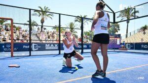 Aranzazu Osoro Prière Victoria Iglesias victoire WPT Challenger Marbella 2021
