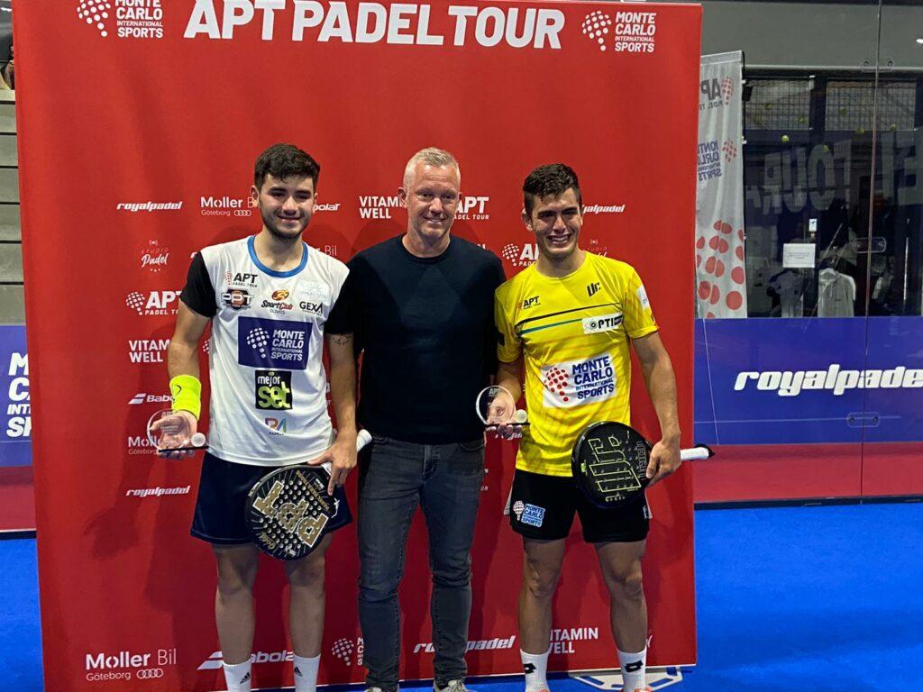 Arce Dal Bianco Thomas Johansson Zweden APT Open winnaars 2021