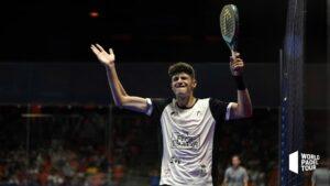Arturo Coello bras levé WPT Valencia Open 2021
