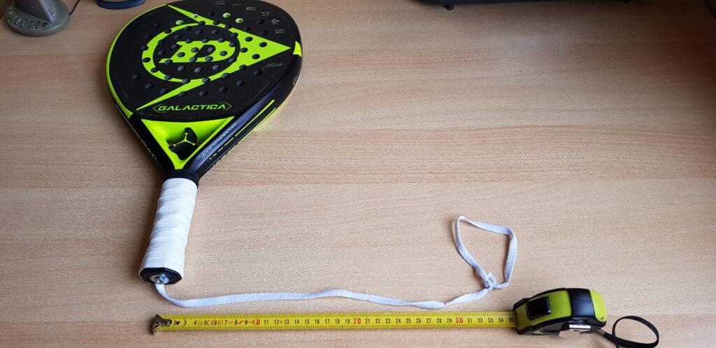 Aangepaste polsband 35 cm lang Padel Tweehandig