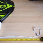 Zmodyfikowany pasek na nadgarstek o długości 35 cm Padel Oburęczny