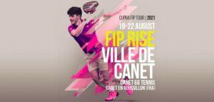 FIP Rise Ville de Canet tournoi 18 22 aout 2021 affiche