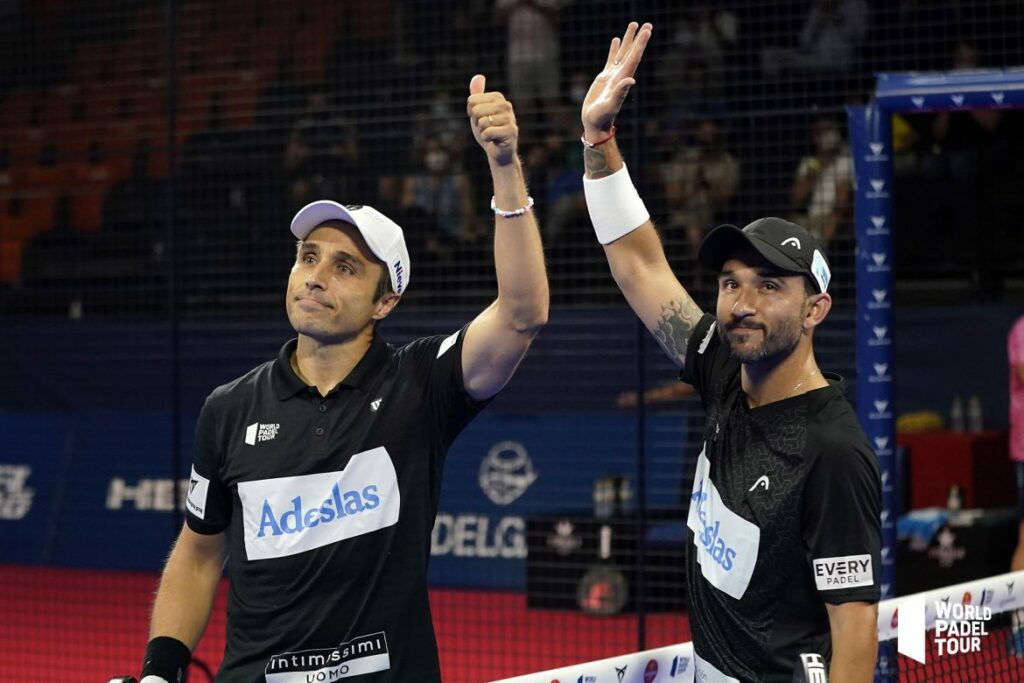 Fernando Belasteguin Sanyo gutierrez WPT Valencia Open 2021