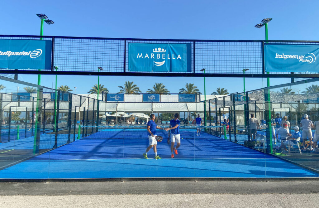 Marbella 2021 padel lisämaa