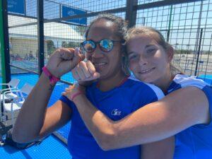 Léa Godallier Alix Collombon sourire Europe FIP Marbella 2021