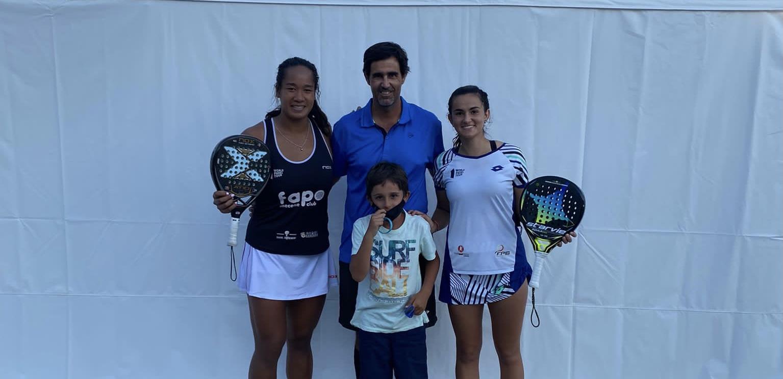 Léa Godallier child coach WPT Marbella Challenger 2021