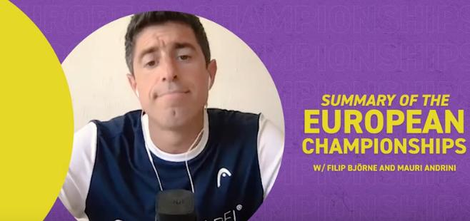 Mauri Andrini Championnat Europe critique 2021