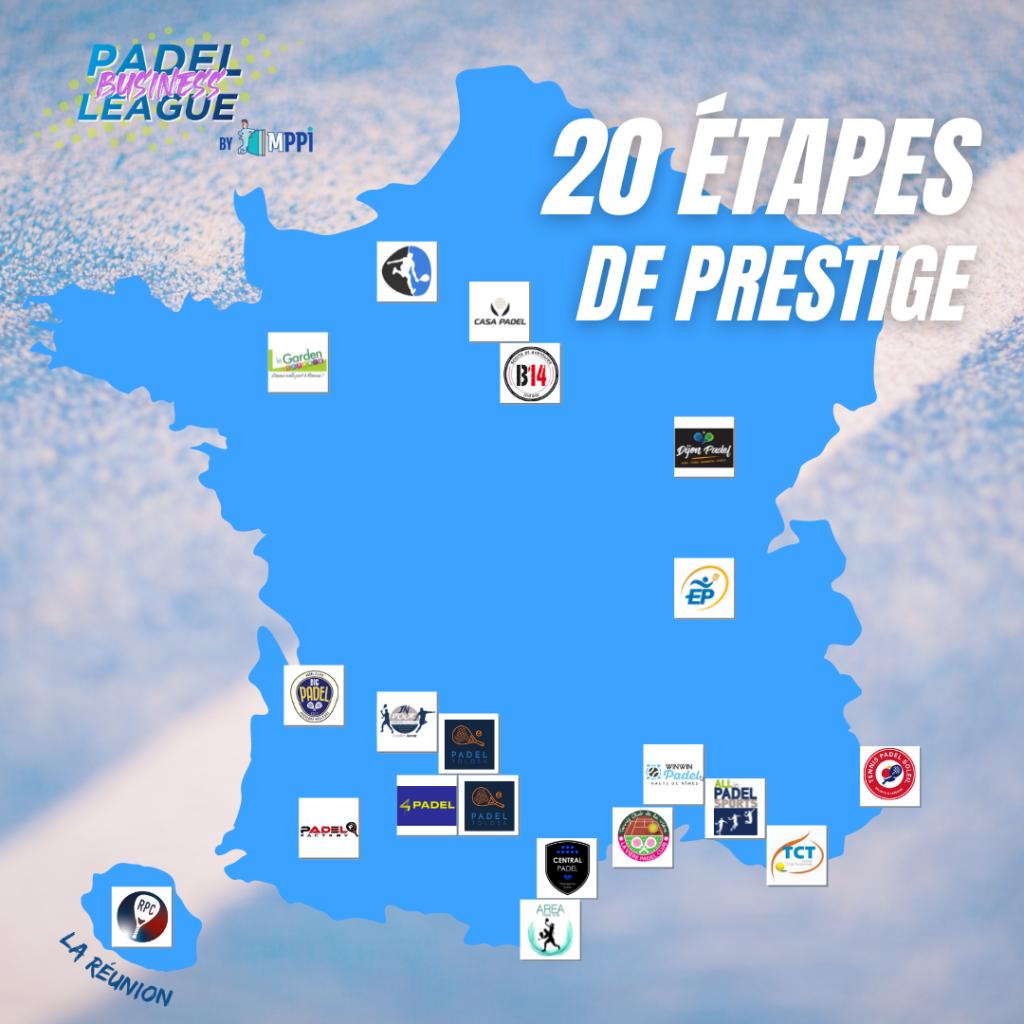 Padel Business League 20 étapes de prestige