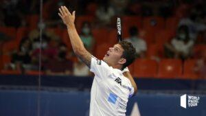 Ramiro Moyano regard balle haute WPT 2021