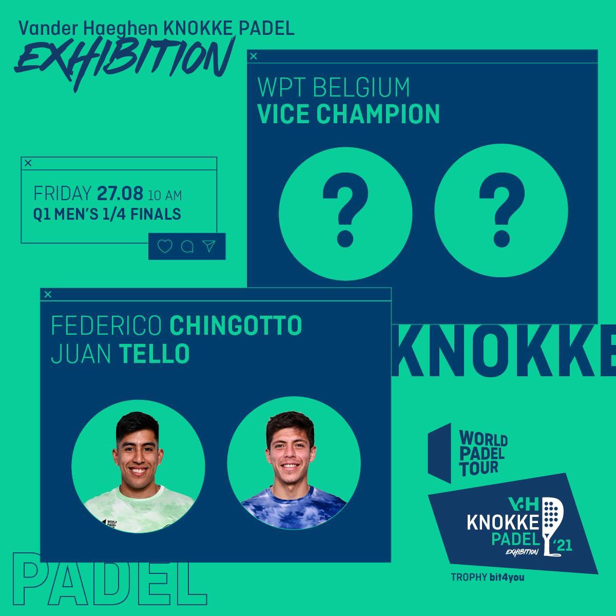 World Padel Tour Knokke 2021 tello chingotto