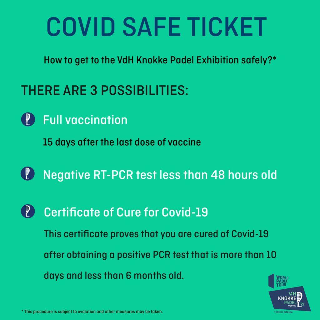 World Padel Tour Knokke covid