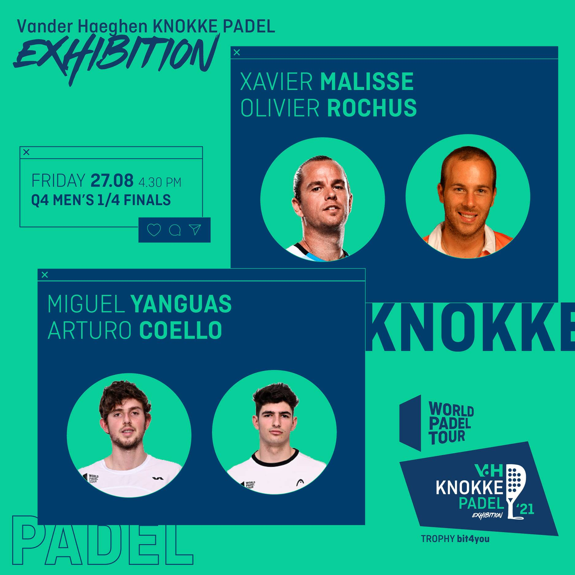 World Padel Tour Knokke malisse rochus