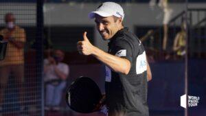Bela kwartfinales van Las Rozas Open 2021 lachende duimen omhoog