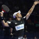 Fernando Belasteguin prépare sa vibora finale Valencia Open