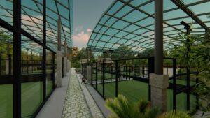 jungle padel courts