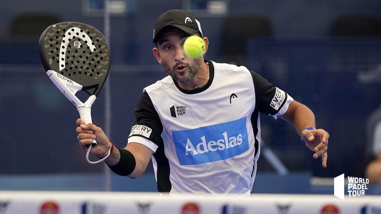 Sanyo Gutierrez volée coup droit lors des 1/8eme de finale Las Rozas Open 2021