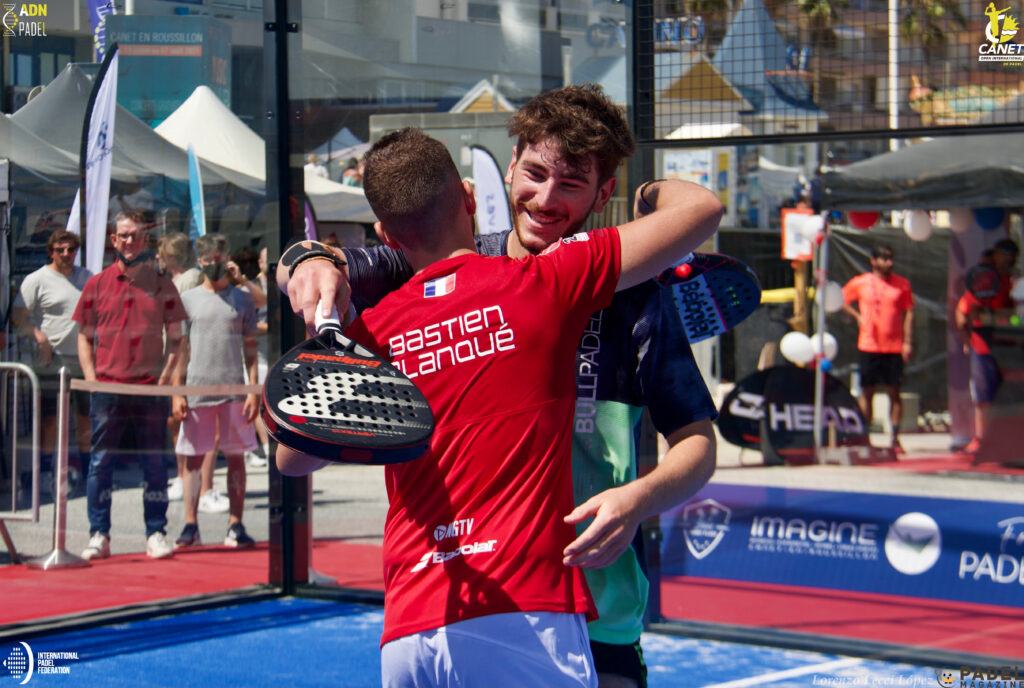 Leygue Blanqué overwinning canet
