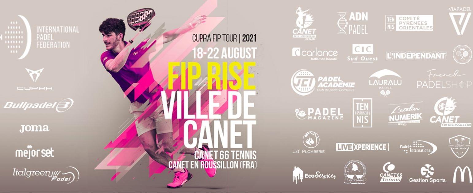 Affiche FIP Rise Canet en Roussillon