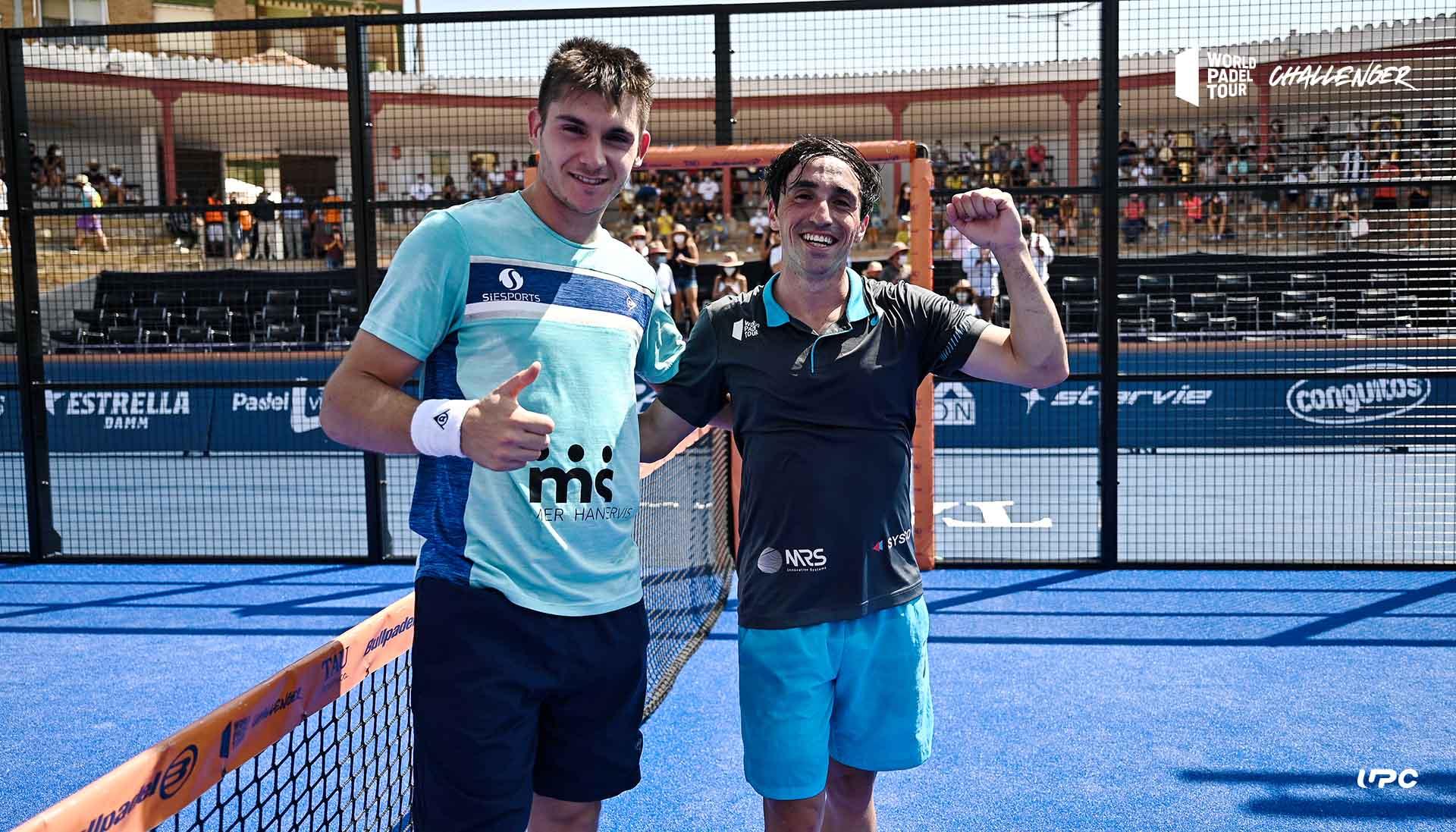 Ayats Perino victoire demi finale WPT Calanda Challenger 2021