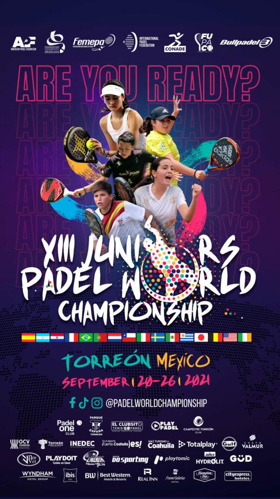 Championnat du monde de padel junior 2021 septembre mexique