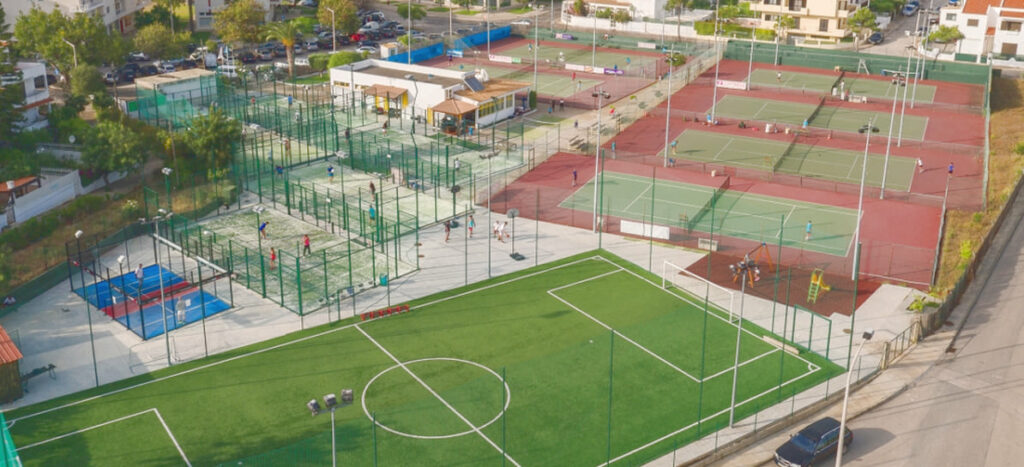 tennisklub og padel af Vilamoura