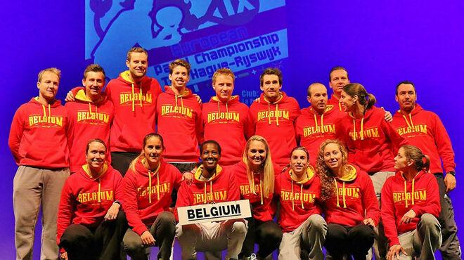 Belgian maajoukkue Padel