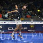 Javi Garrido volée de revers WPT Malaga Open 2021