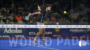 Javi Garrido Rückhandvolleyball WPT Malaga Open 2021