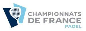 Fransk mesterskabs logo padel fft 2021