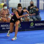 Mélissa Martin forehand final do gesto WPT Malaga Open 2021