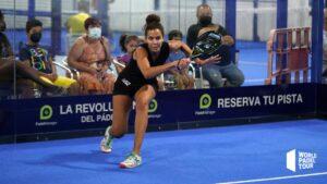 Mélissa Martin coup droit fin de geste WPT Malaga Open 2021