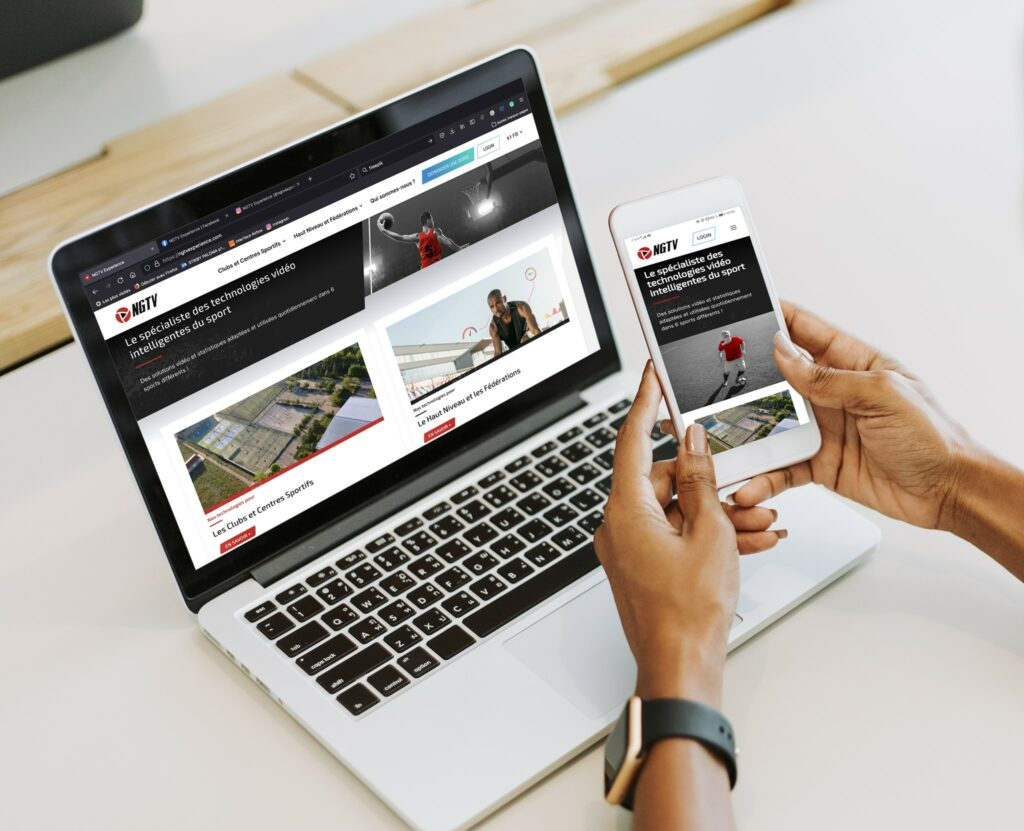 NGTV nouveau site internet Padel