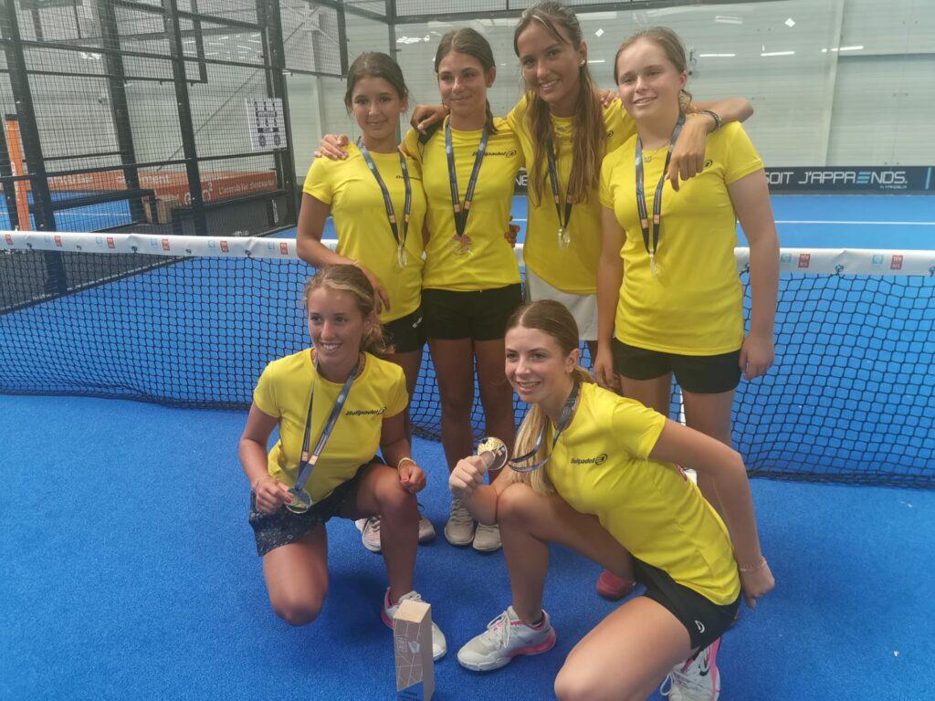PACA victoire filles championnat de France jeunes 2021 TPC