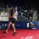 Paquito Navarro sortie de piste Malaga Open 2021