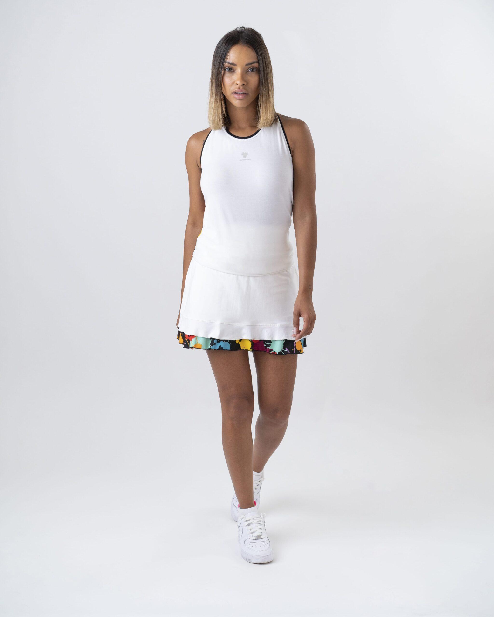 スプラットスカートTシャツ女性2021カルトリ