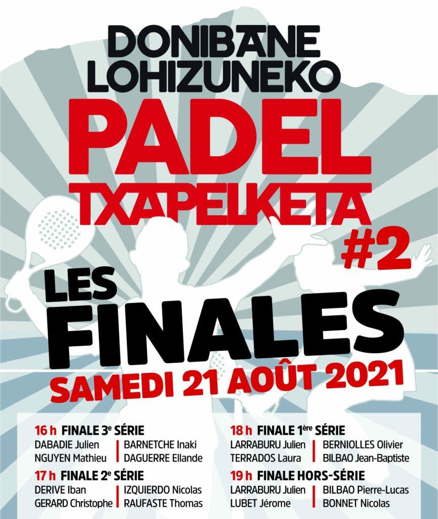 TC Luzien finales Padel Txapelketa 2021
