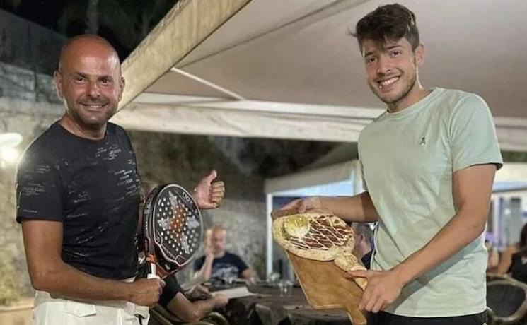 Tapia Luciano Carciotto pizza padel