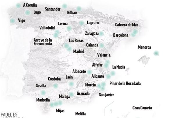 WPT Spain host cities since 2018