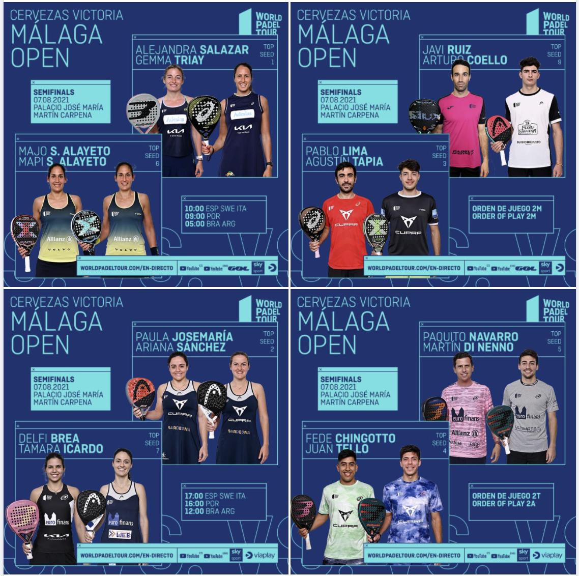 World padel tour demi-finale malaga 2021