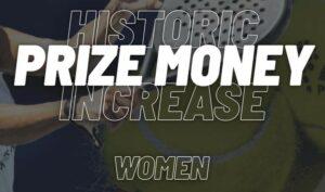 historic prize money apt padel tour