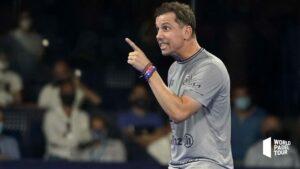 Paquito Navarro im Viertelfinale der Malaga Open