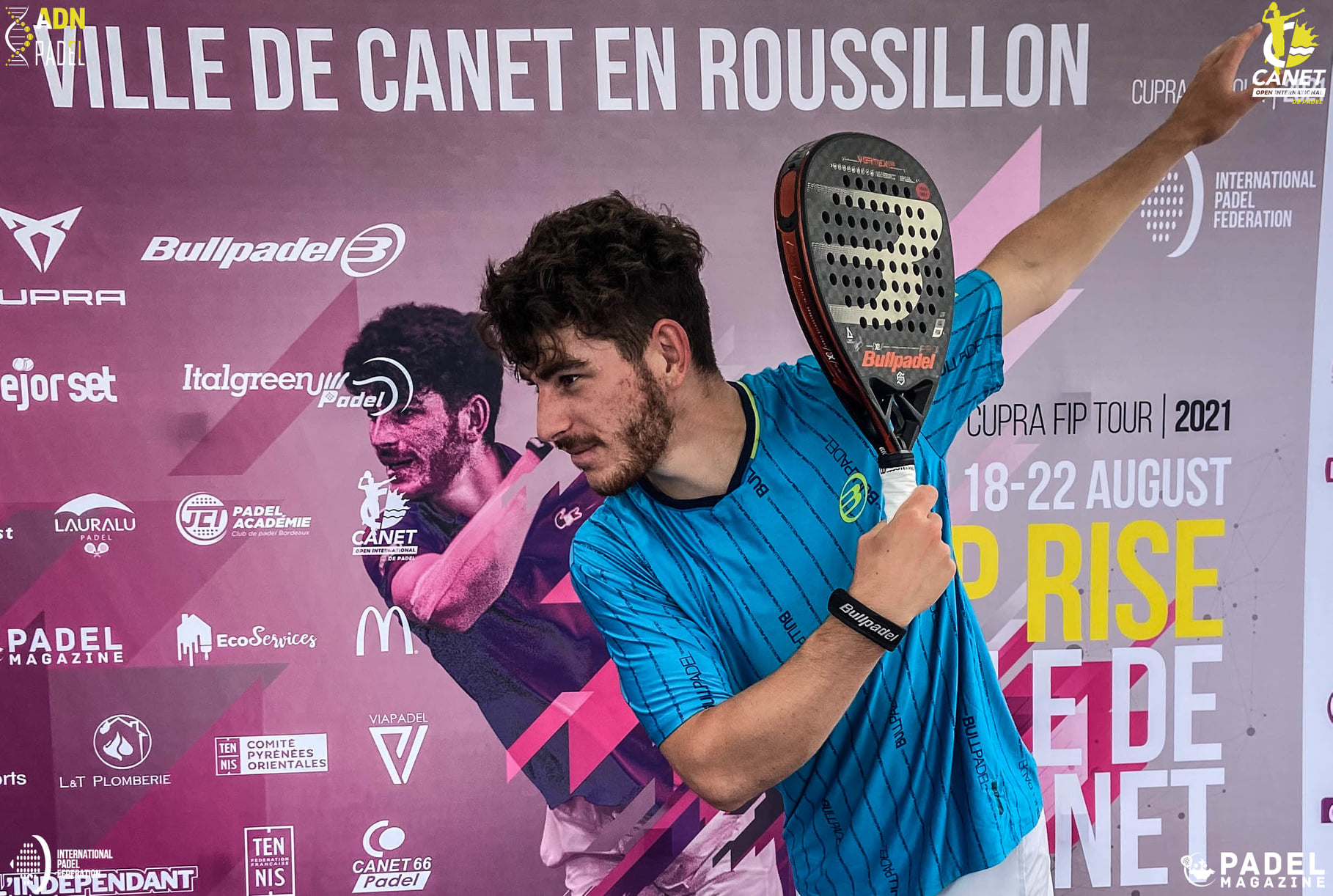 Thomas Leygue Canet en Roussillon 2021 affiche