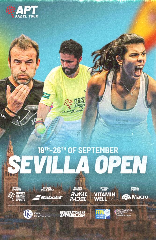 Sevilla Open APT 2021 poster