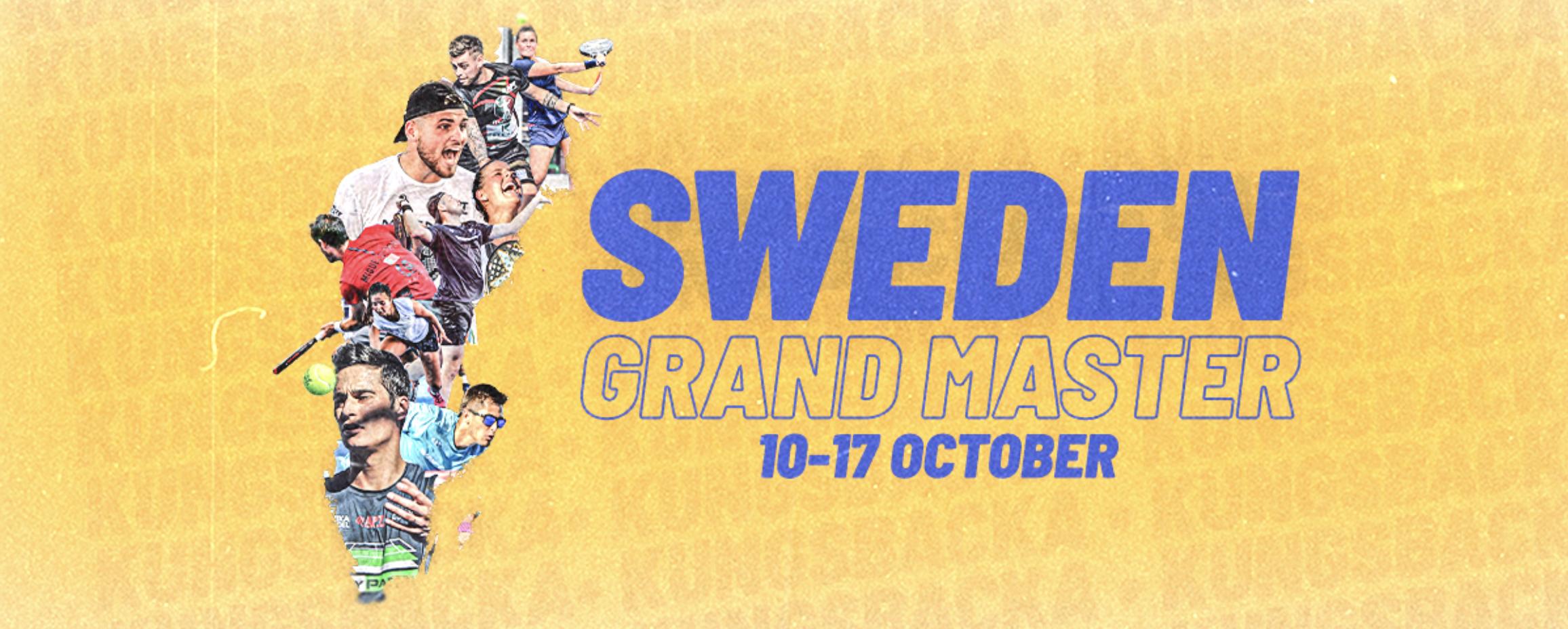 Bannière Suède APT Padel Tour Grand Master Sweden 2021 Padel