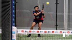 Benjamin Tison rovescio a due mani WPT Lugo Open 2021